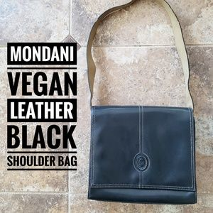 Mondani Vegan Leather Shoulder Bag